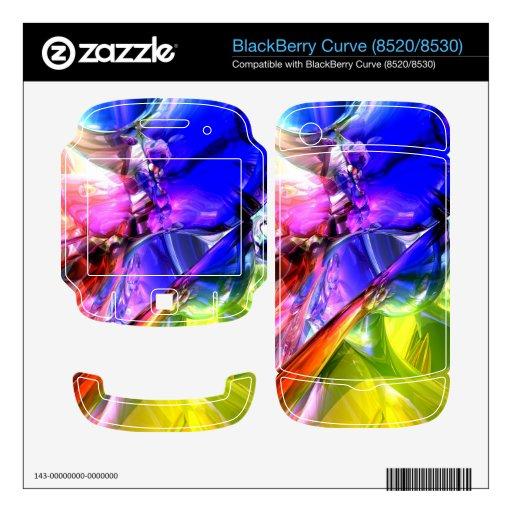Cuando chocan los arco iris BlackBerry curve skin