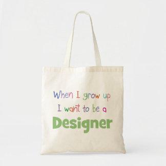 Cuando crezco al diseñador bolsas