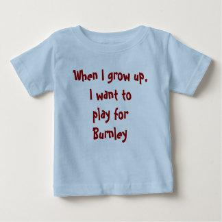 Cuando crezco, quiero jugar para Burnley Playeras