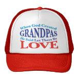 Cuando dios creó a abuelos gorra