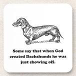 Cuando dios creó Dachshunds Posavaso