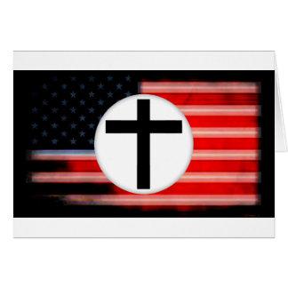 cuando el fascismo viene a América Tarjeta De Felicitación