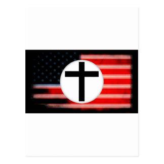 cuando el fascismo viene a América Tarjeta Postal