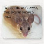 Cuando el gato ausente - mousepad