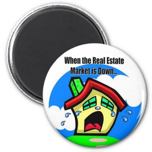 Cuando el mercado inmobiliario está abajo de… iman