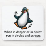 Cuando en peligro o en duda alfombrillas de raton