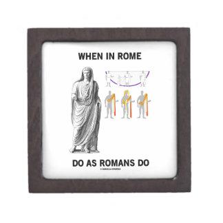 Cuando en Roma haga como hacen los romanos (la Cajas De Joyas De Calidad