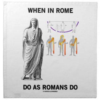 Cuando en Roma haga como hacen los romanos (la