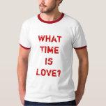 ¿Cuándo es el amor? Camiseta Camisas
