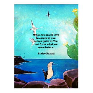 Cuando estamos en el amor inspirado cite postales