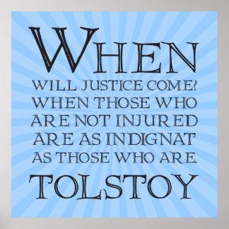 ¿Cuándo la justicia vendrá Cuando ésos… Impresiones