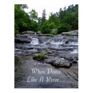 Cuando la paz tiene gusto de un río… tarjetas postales