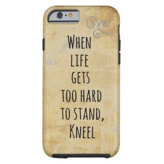 Cuando la vida consigue demasiado dura de funda para iPhone 6 tough