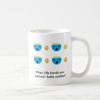 Cuando la vida le da la harina de avena: cueza las taza de café