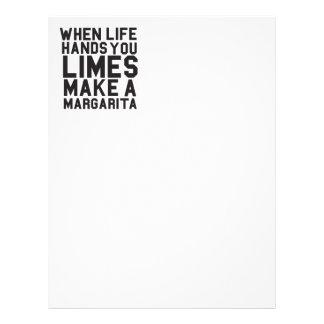 Cuando la vida le da las cales hacen a una Margari Plantillas De Membrete