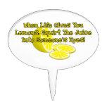 Cuando la vida le da los limones figuras para tartas