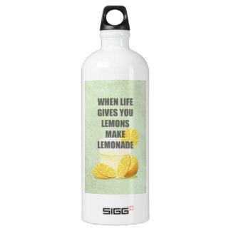 Cuando la vida le da los limones, haga las citas