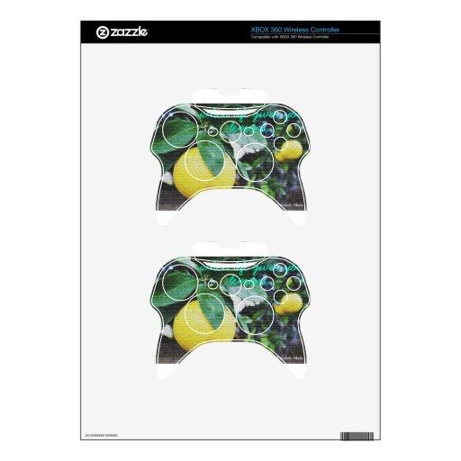 Cuando la vida le da los limones mando xbox 360 skins