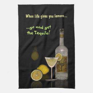 Cuando la vida le da los limones… toallas de cocina