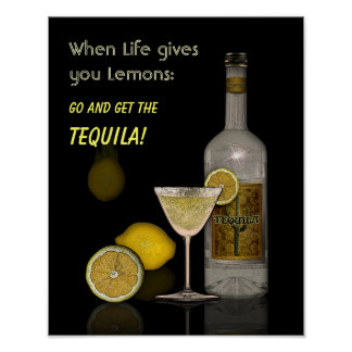 Cuando la vida le da los limones póster