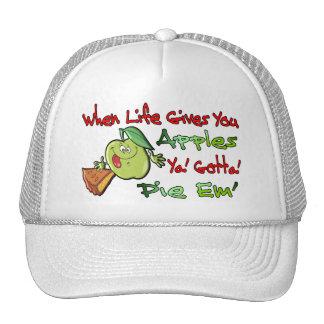 Cuando la vida le da manzanas gorra