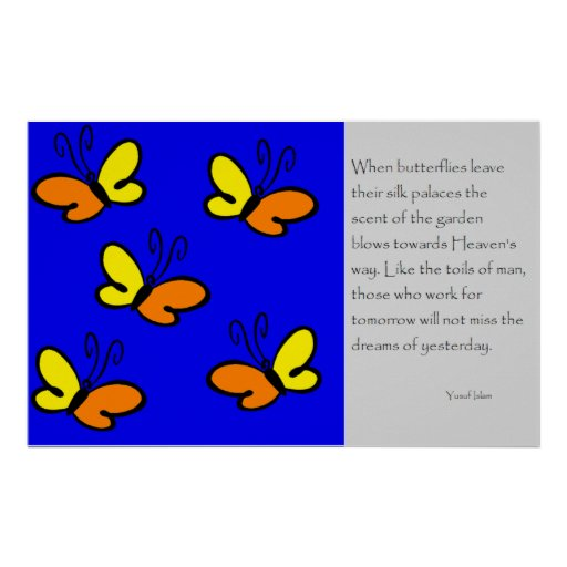 Cuando las mariposas se van posters