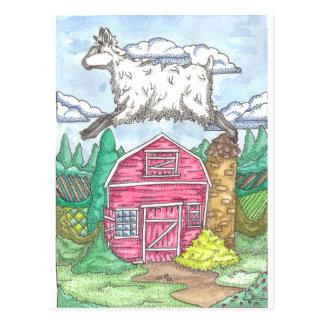 Cuando las ovejas vuelan postal