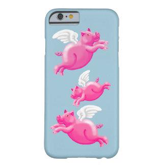 Cuando los cerdos vuelan funda para iPhone 6 barely there