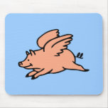Cuando los cerdos vuelan Mousepad Tapete De Ratones