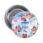cuando los cerdos vuelan       una manada feliz de pin