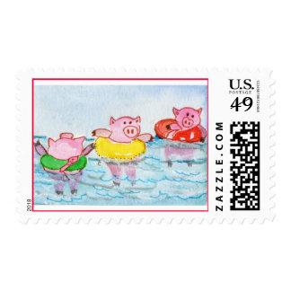 Cuando los cochinillos flotan - los cerdos de la sello