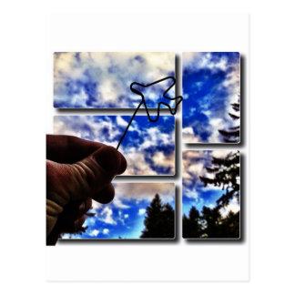 Cuando los Paperclips vuelan Postales