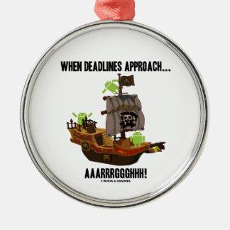 Cuando los plazos se acercan… Aaarrrggghhh Bugdroi Adornos De Navidad