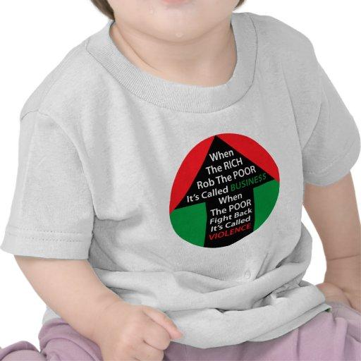 Cuando los POBRES RICOS de Rob llamaron los pobres Camiseta