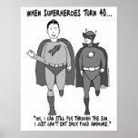 Cuando los super héroes dan vuelta al poster 40