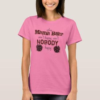 Cuando mamá Bear no es camisa feliz