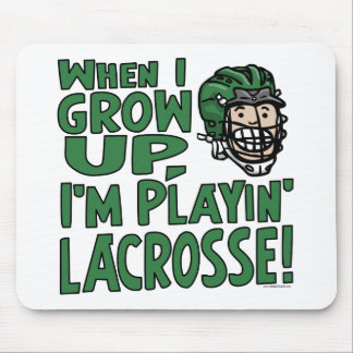 Cuando me crezco están jugando el casco verde de L Alfombrillas De Raton