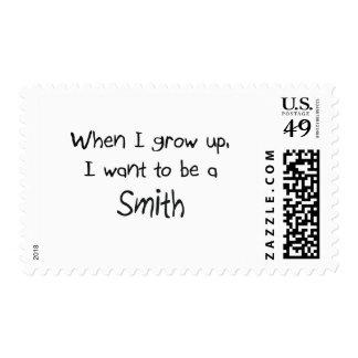 Cuando me crezco quiera ser Smith