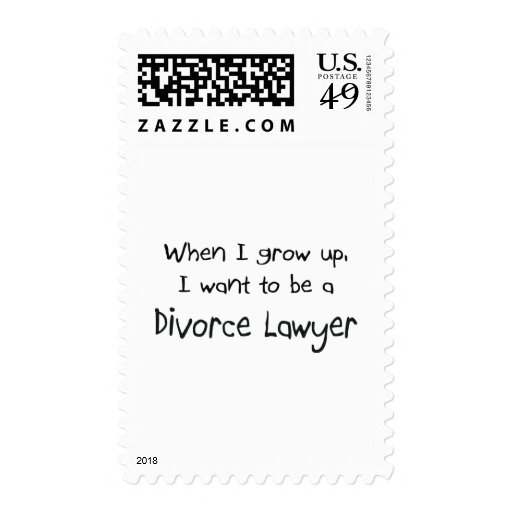 Cuando me crezco quiera ser un abogado de divorcio timbres postales