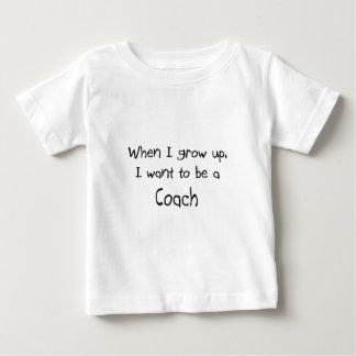 Cuando me crezco quiera ser un coche t-shirts