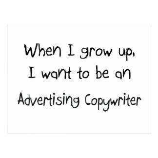 Cuando me crezco quiera ser un Copywri Postal