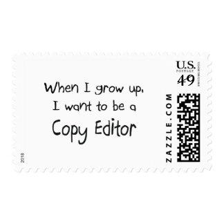 Cuando me crezco quiera ser un editor envio