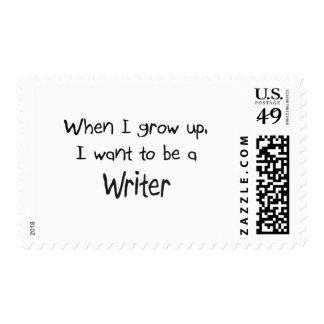 Cuando me crezco quiera ser un escritor envio