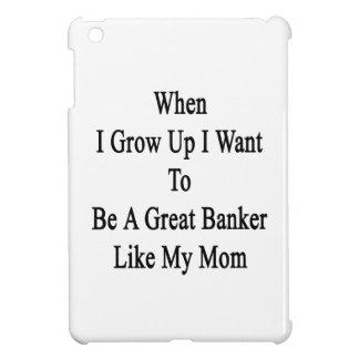 Cuando me crezco quiera ser un gran banquero como