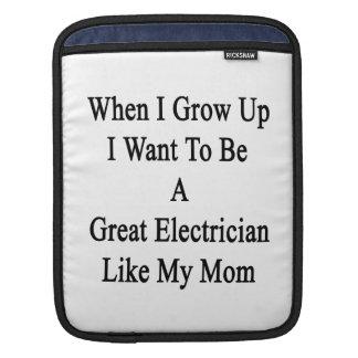 Cuando me crezco quiera ser un gran electricista manga de iPad