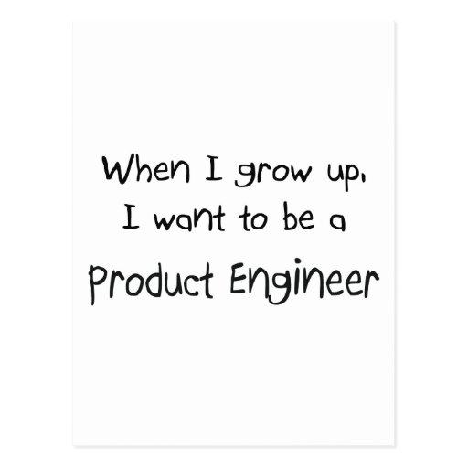 Cuando me crezco quiera ser un ingeniero del postales