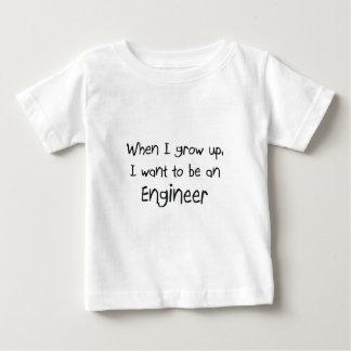 Cuando me crezco quiera ser un ingeniero playera