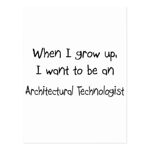 Cuando me crezco quiera ser un Techn Postal