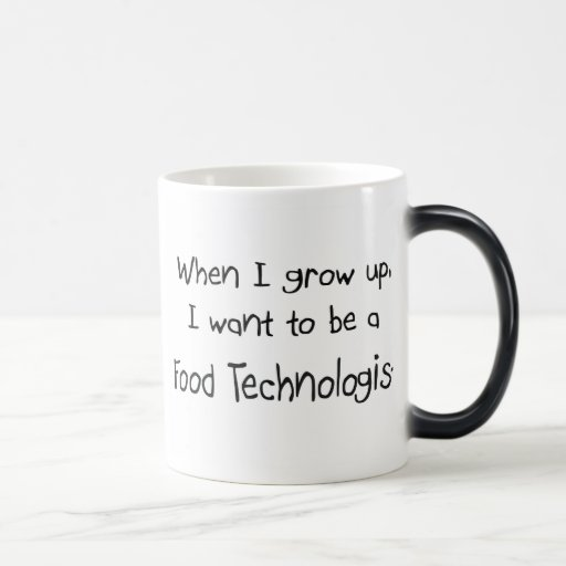 Cuando me crezco quiera ser un tecnólogo de la com tazas de café