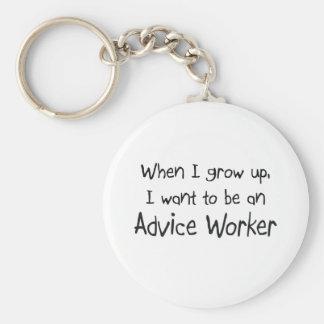Cuando me crezco quiera ser un trabajador del cons llaveros